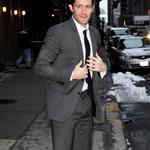 Matthew Morrison arrives at Letterman  79819