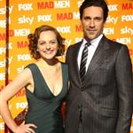 Jon Hamm Elisabeth Moss in Germany promoting Mad Men  69861