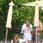Kate Moss and Naomi Campbell on holiday in Thailand 52937