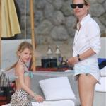 Kate Moss on holiday in Thailand with daughter Lila  52940