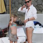Kate Moss on holiday in Thailand with daughter Lila  52942