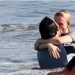 Anna Paquin and Stephen Moyer on Memorial Day weekend in the Pacific Ocean with his kids  62418