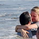 Anna Paquin and Stephen Moyer on Memorial Day weekend in the Pacific Ocean with his kids  62419