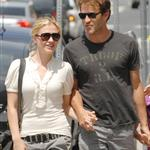 Anna Paquin and Stephen Moyer with his daughter  45337