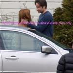 David Duchovny Gillian Anderson shooting X Files movie in Vancouver 18059