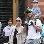 Naomi Watts with Liev Schreiber and their sons in New York   58910