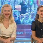 Natalie Portman Scarlett Johansson promote The Other Boleyn Girl at the Today Show 17431