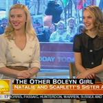 Natalie Portman Scarlett Johansson promote The Other Boleyn Girl at the Today Show 17429