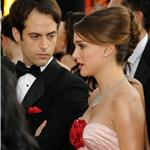 Natalie Portman Benjamin Millepied at Golden Globes 78309