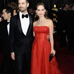 Natalie Portman and Benjamin Millepied at the 84th Annual Academy Awards  107500