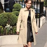 Natalie Portman arrives at the Plaza Athenee Hotel Paris, France 110499