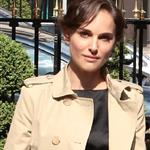 Natalie Portman arrives at the Plaza Athenee Hotel Paris, France 110500