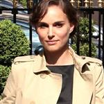 Natalie Portman arrives at the Plaza Athenee Hotel Paris, France 110504