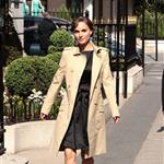 Natalie Portman arrives at the Plaza Athenee Hotel Paris, France 110505
