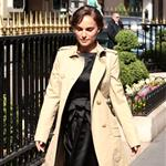 Natalie Portman arrives at the Plaza Athenee Hotel Paris, France 110506