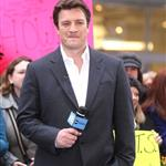 Nathan Fillion on Good Morning America  99108