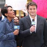 Nathan Fillion on Good Morning America  99115