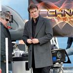 Nathan Fillion on the set of Castle January 2011  77515