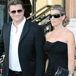 Nathan Fillion and fiancé Kate Luyben outside the Hotel de Paris 52nd  117494