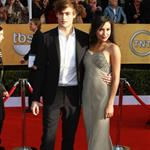 Naya Rivera and Douglas Booth at SAG Awards 2011  77828