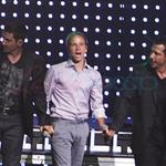 NKOTB and Backstreet Boys on stage in New York June 2010  63671