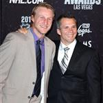 Steven Stamkos Martin St. Louis at NHL Awards  88340