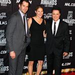 Ryan Kesler Donny Osmond at NHL Awards  88346