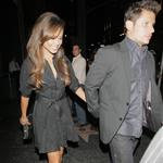 Nick Lachey takes Vanessa Minnillo out for dinner to promote High School Musical Get in the Picture 22621