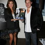 Nick Lachey and Vanessa Minnillo promote their vodka in Hollywood 52037