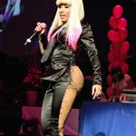 Nicki Minaj performs live at the Hammerstein Ballroom with friends New York City 73714