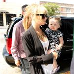 Nicole Richie takes daughter Harlow to Larry King Live taping 39886
