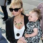 Nicole Richie takes daughter Harlow to Larry King Live taping 39882