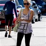 Nicole Richie leaves the gym April 2011 82704