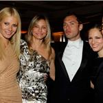 Gwyneth Paltrow, Jude Law, and Cameron Diaz at the Vanity Fair Afterparty 80501