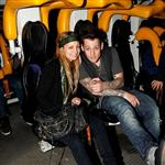 Nicole Richie and Joel Madden support Beyond Shelter at Six Flags 30004