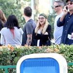 Nicole Richie and Joel Madden support Beyond Shelter at Six Flags 30003