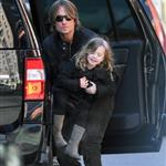 Nicole Kidman and Keith Urban out in New York City with daughter Sunday Rose 101033