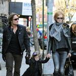 Nicole Kidman and Keith Urban out in New York City with daughter Sunday Rose 101045