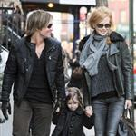 Nicole Kidman and Keith Urban out in New York City with daughter Sunday Rose 101057