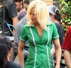 Nicole Kidman is bleach blonde on the set of The Paperboy  91056