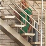 Nicole Kidman is bleach blonde on the set of The Paperboy  91060