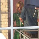 Nicole Kidman is bleach blonde on the set of The Paperboy  91062