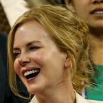 Nicole Kidman with Keith Urban as they watch the men's singles second round match between Andy Roddick of the United States and Bernard Tomic of Australia during Day Five of the 2012 US Open 125111