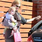 Nicole Kidman, husband Keith Urban and their daughter Faith Margaret leaving a birthday party at ROMP in Hollywood 105154