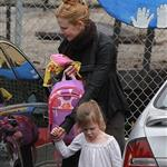 Nicole Kidman picks up daughter Sunday Rose from school 105163