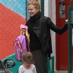 Nicole Kidman picks up daughter Sunday Rose from school 105170