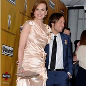 Nicole Kidman and Keith Urban arriving at the Weinstein party after the Globes 53691
