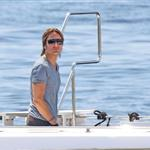Keith Urban on a boat in Cannes 115604