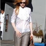 Nicole Kidman is seen leaving Joan's on 3rd after having lunch with a couple of girlfriends 103937