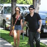 Nicole Richie Joel Madden together to see an art show August 2010  66402